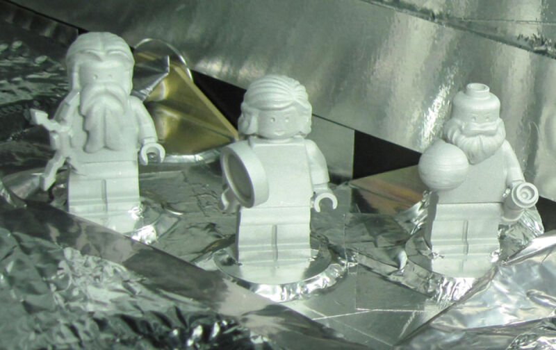 Pasażerowie sondy Juno / NASA