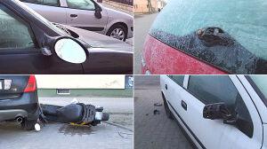 W nocy ktoś uszkodził kilkanaście aut. Policja zatrzymała dwie osoby