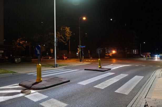 Doświetlają przejścia dla pieszych ZDM