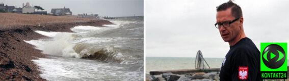Polak chce pokonać wpław kanał La Manche. Na razie nie pozwala na to pogoda