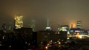 Smog w Warszawie? Nic z tych rzeczy