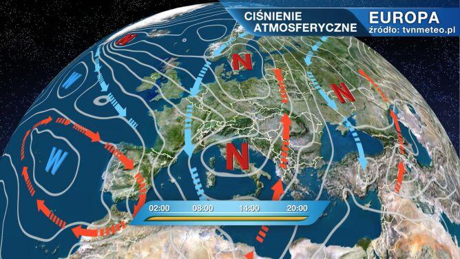 Pogodą w Polsce rządzi Martin