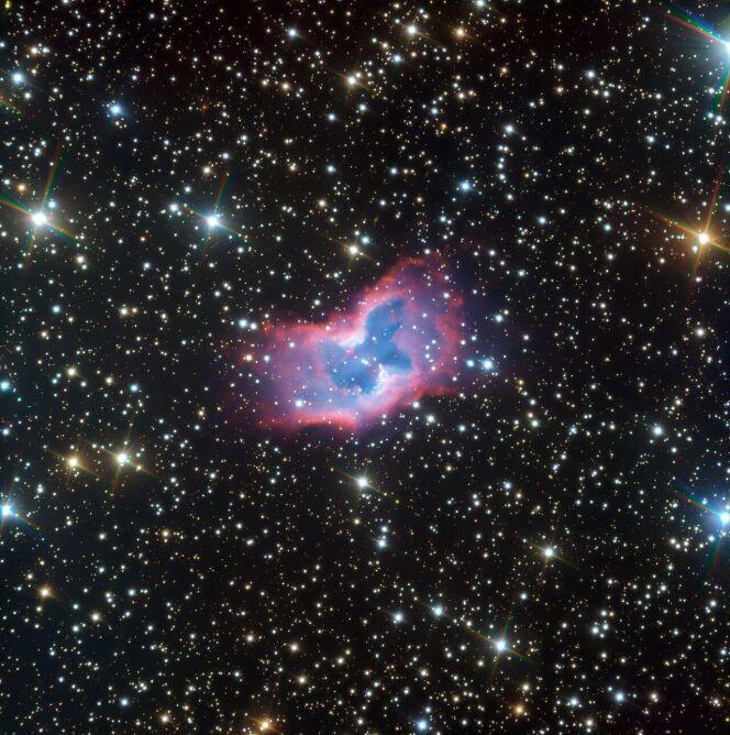 """Tak wygląda """"kosmiczny motyl"""" (ESO)"""