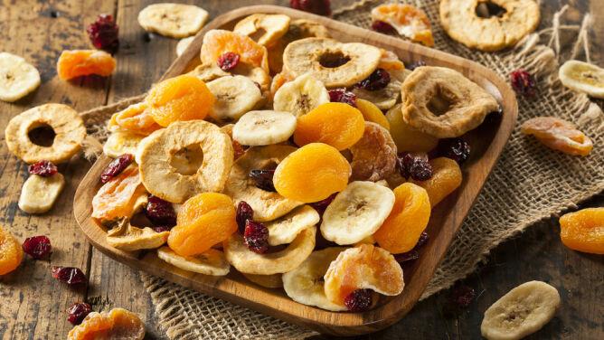 Poznaj cenne właściwości <br />suszonych owoców